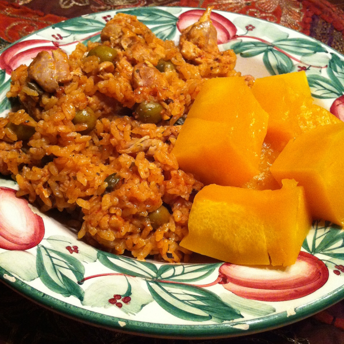 Arroz con Pollo (Puerto Rican chicken with rice)