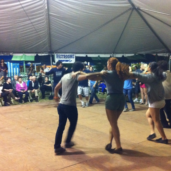Dance hard and dance fast!