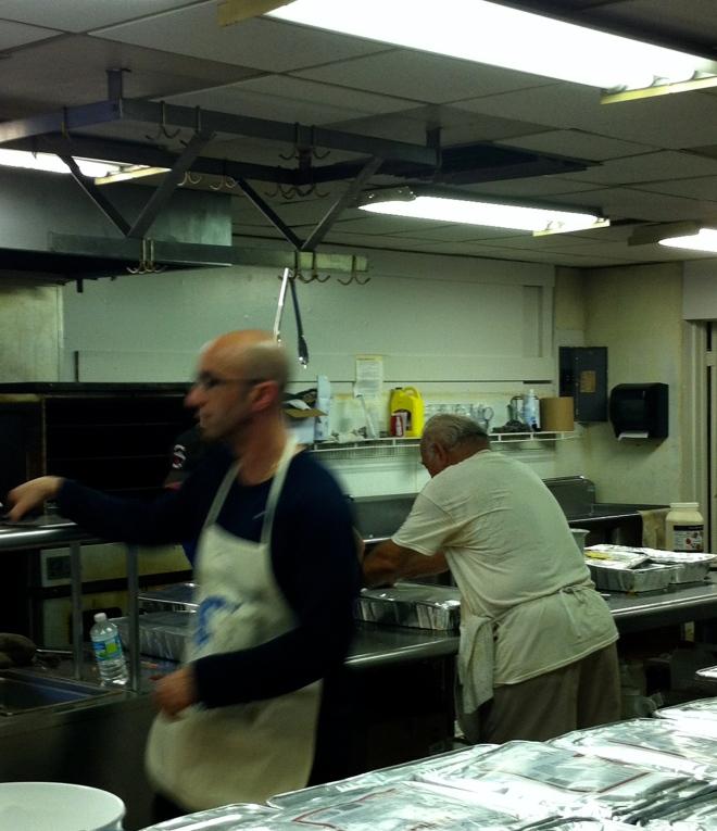 Chef Delcho in action!