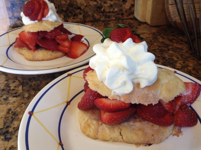 Long on Strawberry Shortcake