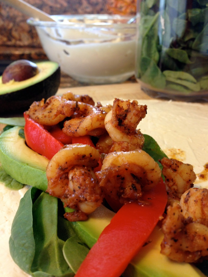 Movin' On with Blackened Shrimp Bites