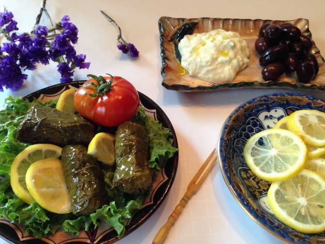 Dolmades, Greek Stuffed Grape Leaves…Food of the Gods