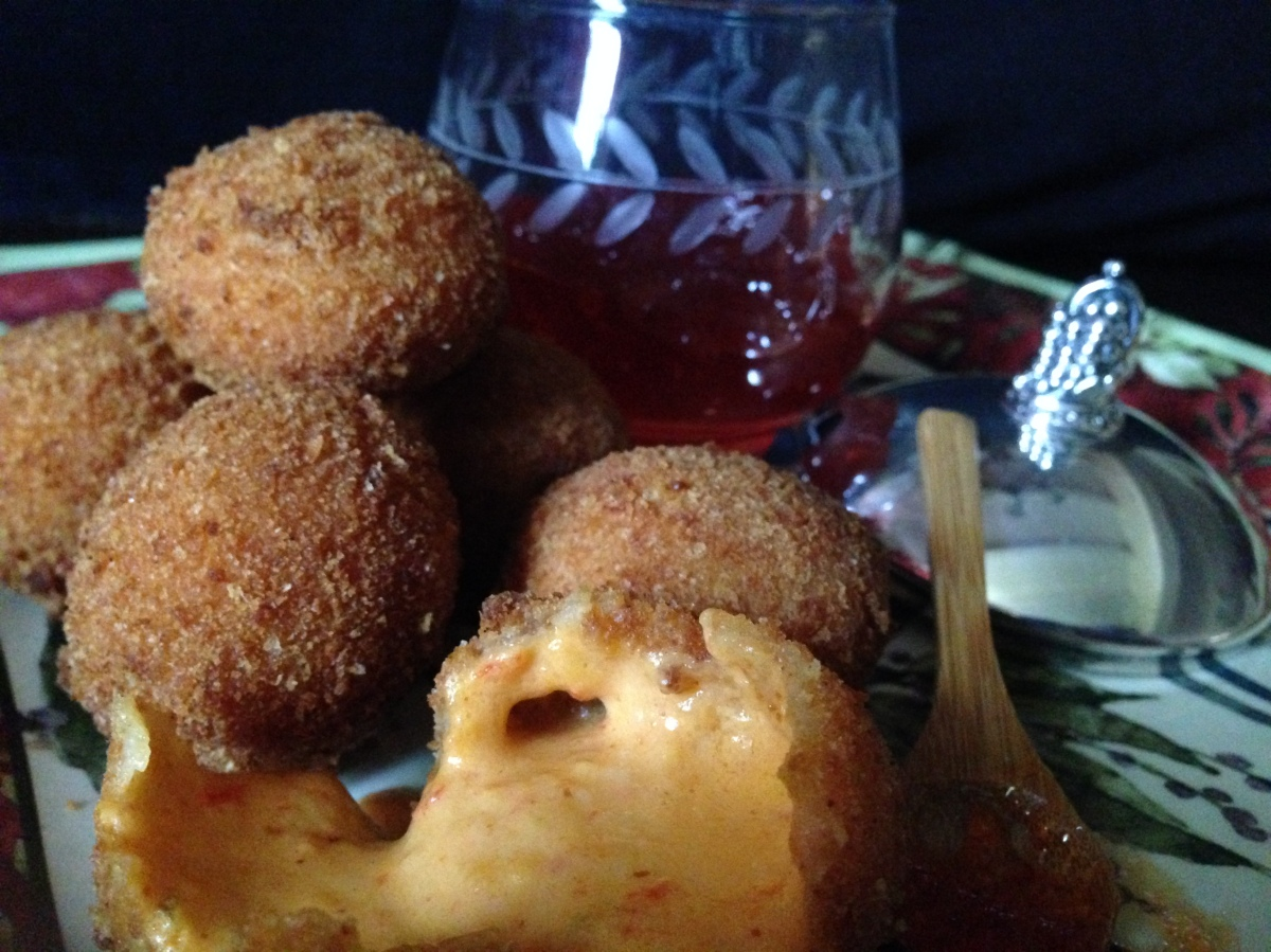 Deep Fried Pimento Cheese Balls In Celebration of The Graduate