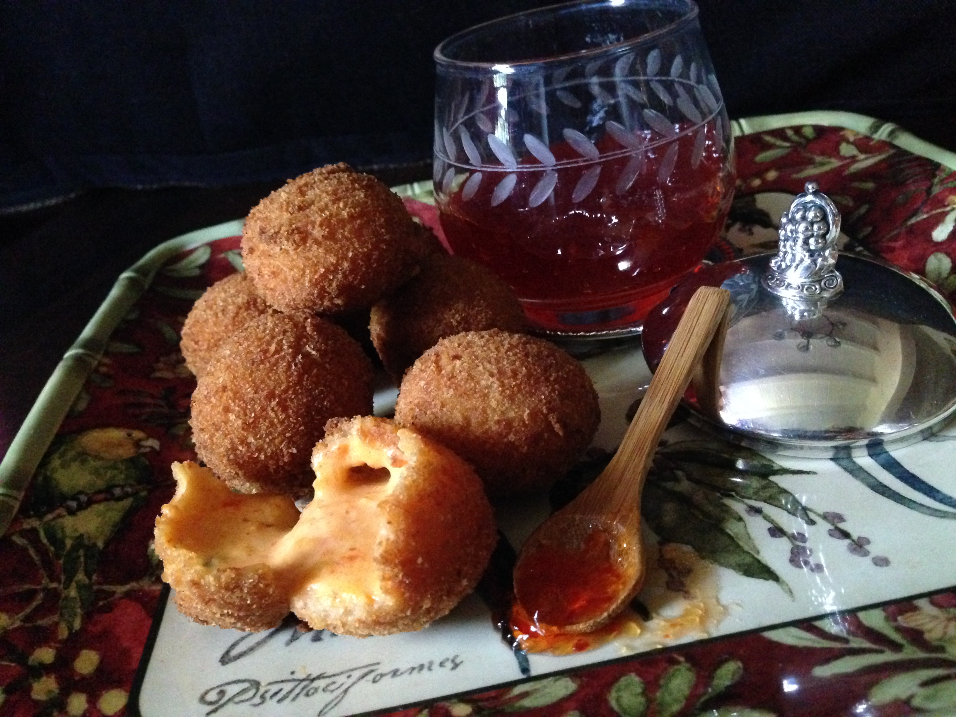 how to make fried pimento cheese balls