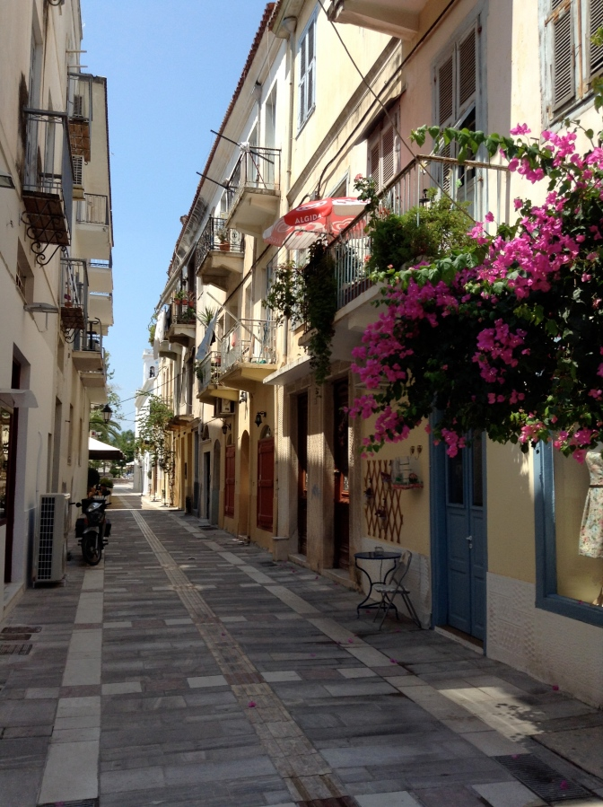 Antio, Lesvos.  Hello, Nafplio!