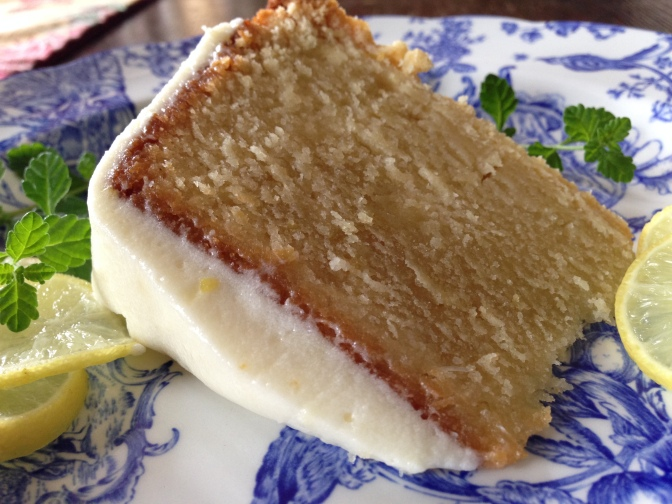 Key Lime Pound Cake with Key Lime Cream Cheese Icing…omg!