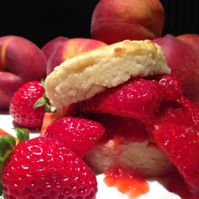 A Slightly Sweet Summer Shortcake with Berries