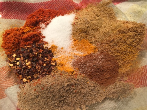 The sultry, earthy spices of the Middle East.