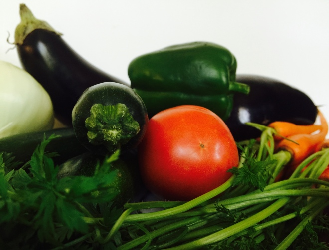 Oh, the magic these vegetables will make after an olive oil bath and a little time in the oven!
