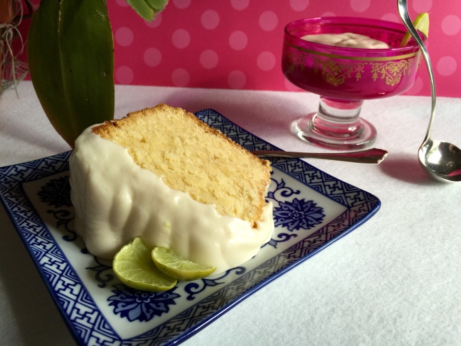 Key Lime Pound Cake…one year later
