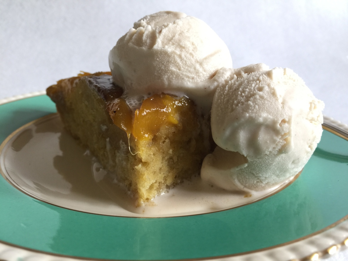 Mango Upside Down Cake...go South!