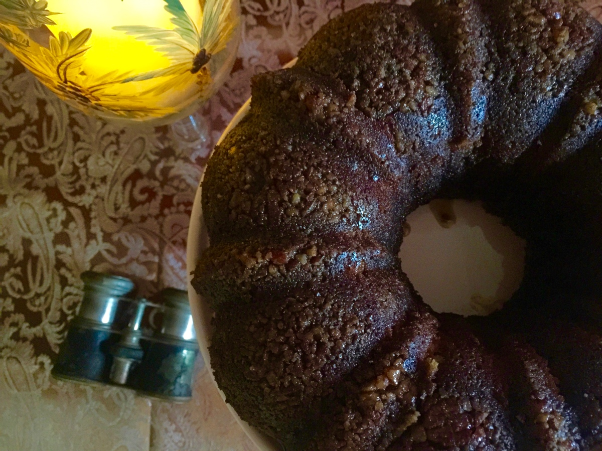 Greek Spiced Pound Cake - Melomacarona Cake