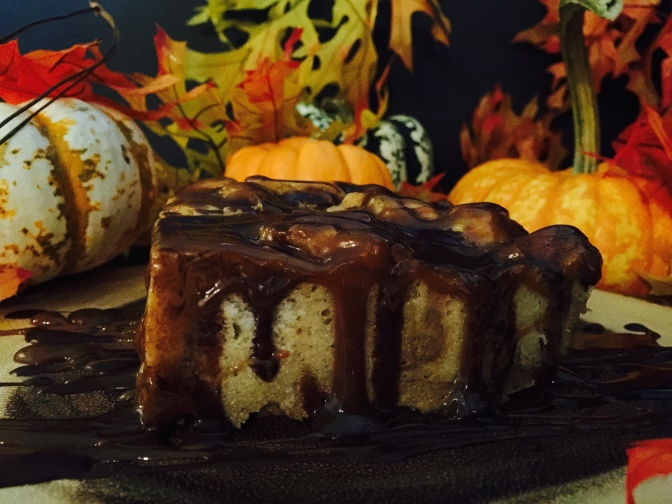 Pumpkin Tres Leches Bread Pudding