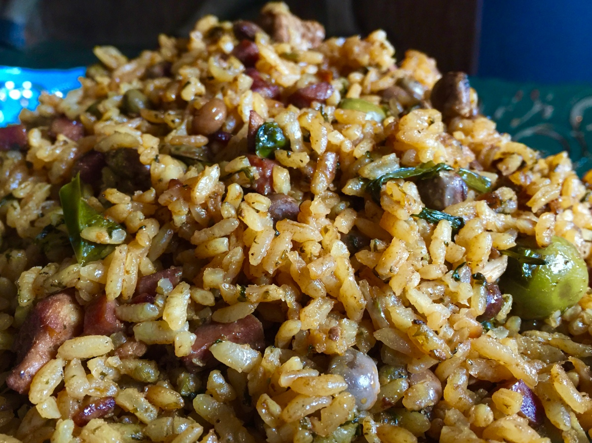Puerto Rican Pigeon Peas and Rice, Arroz con Gandules