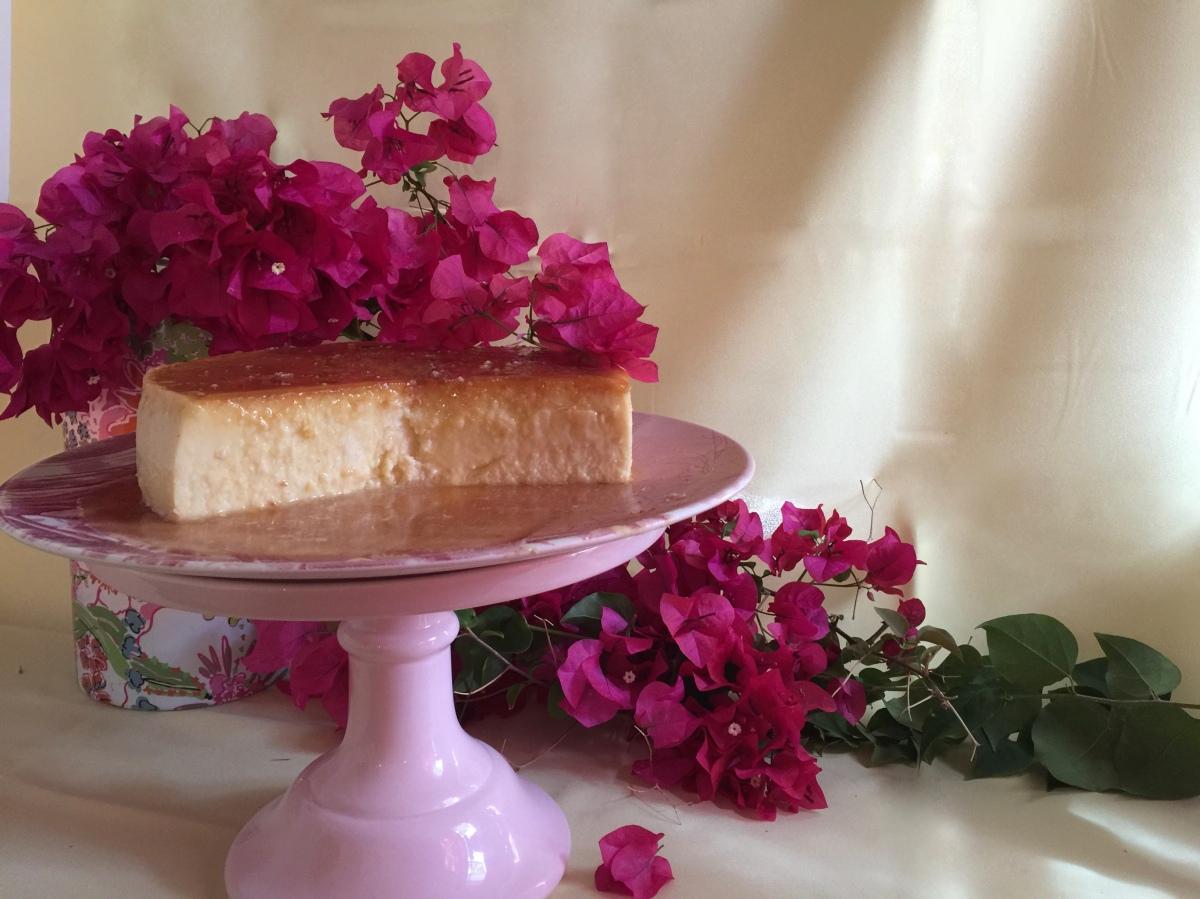 Silky Coconut Cream Cheese Flan