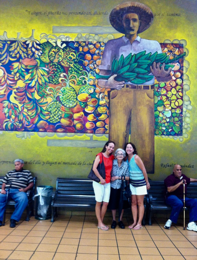At the farmer's market in Rio Piedras, Puerto Rico. Here you can find everything from fresh beef and goat from the mountains to fresh tamarind, mavi bark and all the island herbs a girl could want!