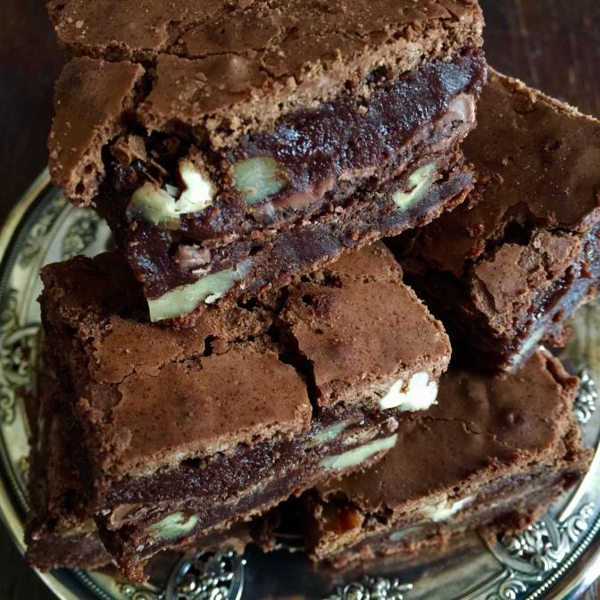Maida Heatter's Palm Beach Mint Brownies